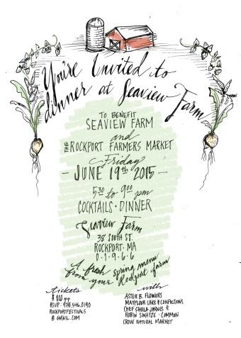 Farm Dinner Invite