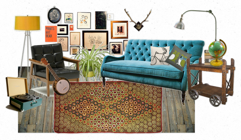 Interiors hipster decor the roving home for Home furnishings and decor