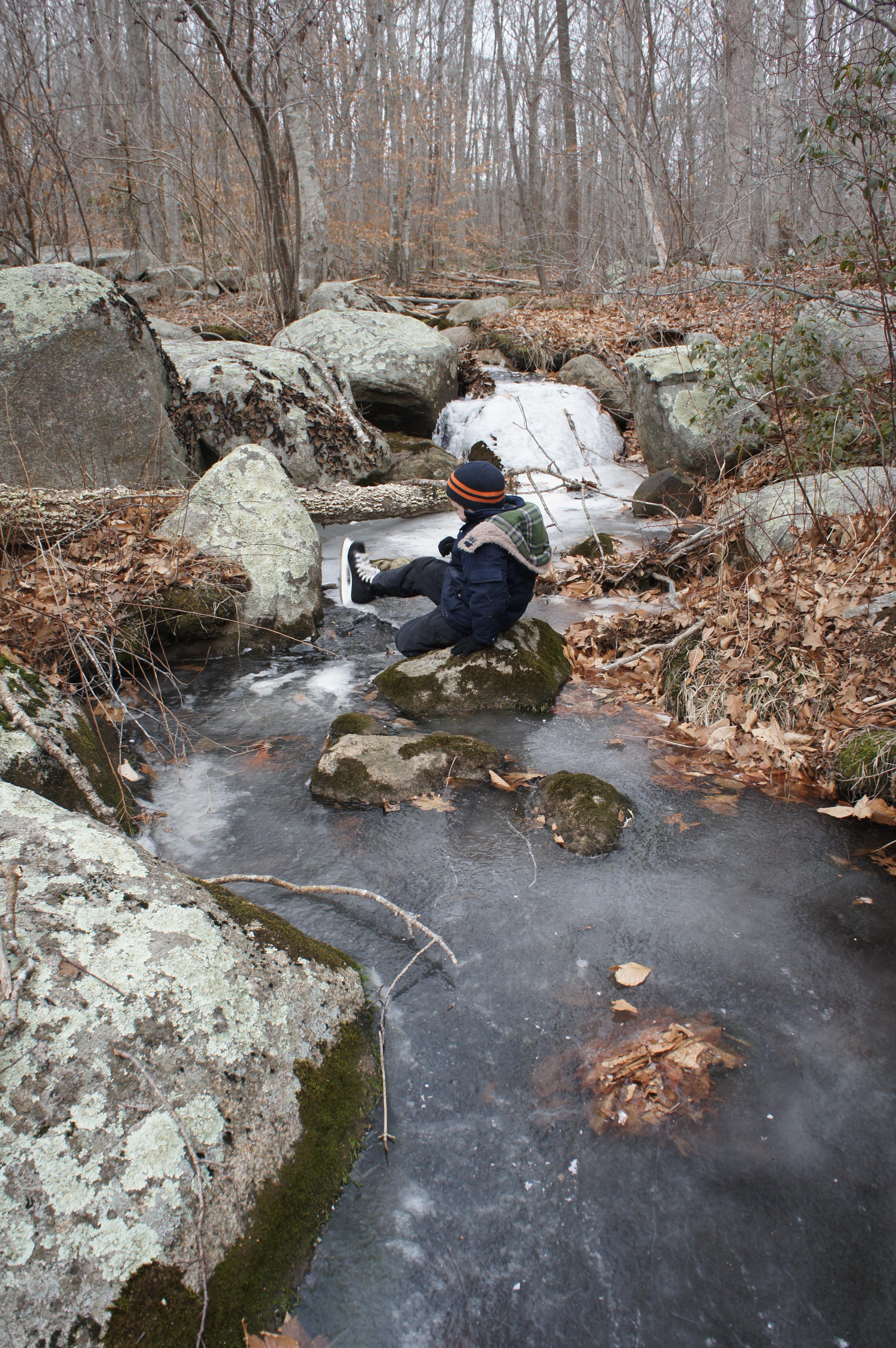 ice: creek
