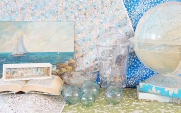 Vintage glass floats