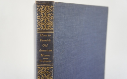 vintage linen book