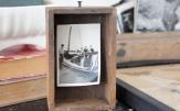 8-inch wood box