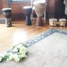 Post-wedding flowers