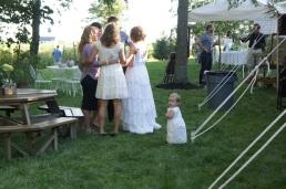 Francie follows the bride