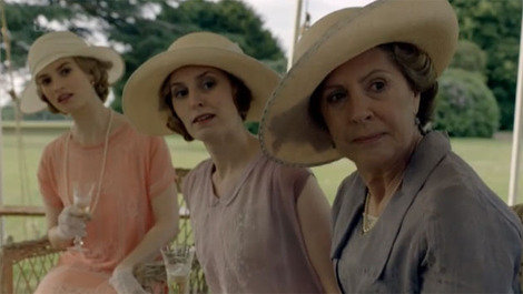 downton abbey three ladies