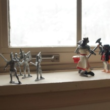 war on the windowsill